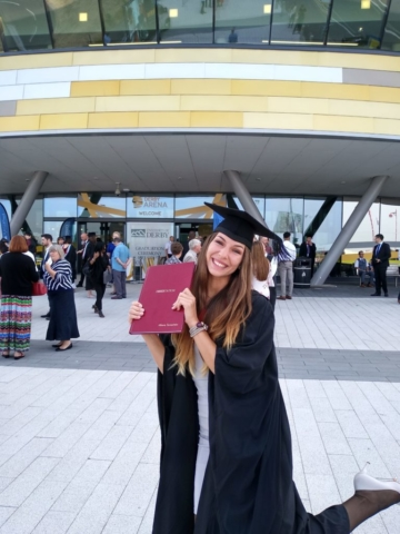 Graduated with First Class Honours in VFX and Post-Production!